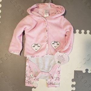 Baby Girl 3 Piece Outfit